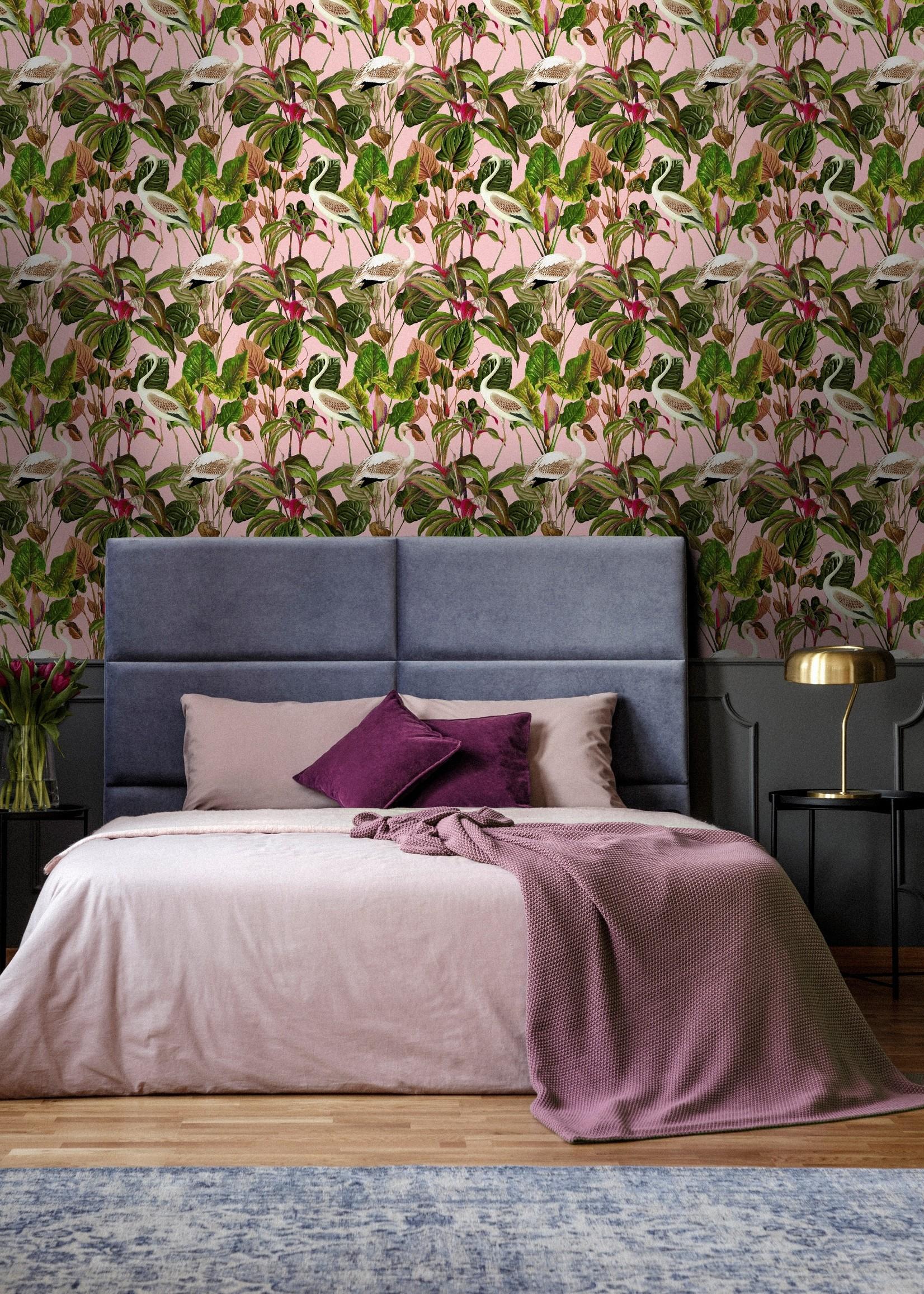 MINDTHEGAP Designer Wallpaper BEVERLY HILLS Pink
