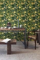 MINDTHEGAP Designer Wallpaper MIMULUS Anthracite