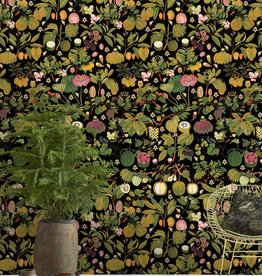 MINDTHEGAP ASIAN FRUITS AND FLOWERS Anthracite
