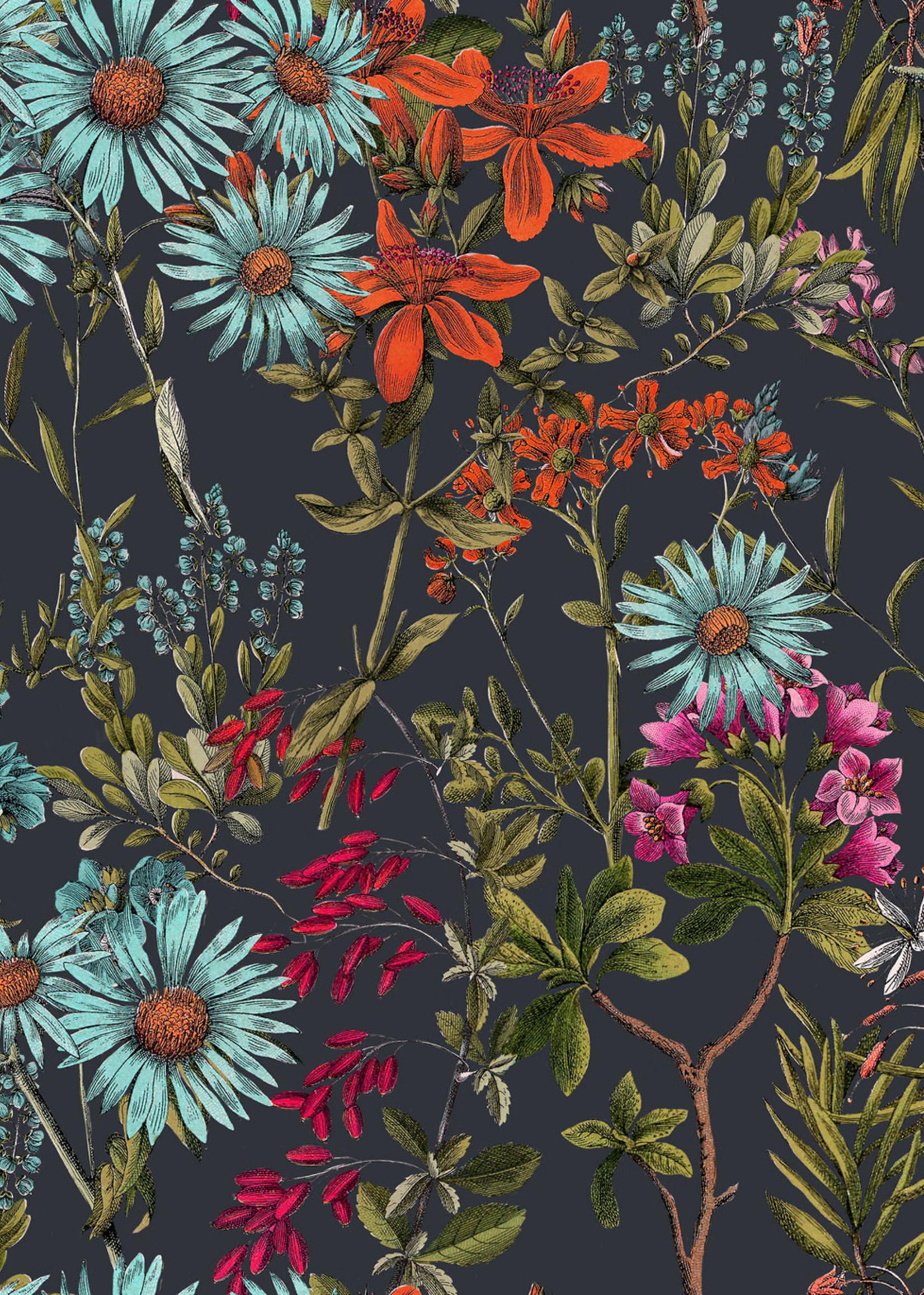 MINDTHEGAP Designer Wallpaper SUMMERISH Charcoal