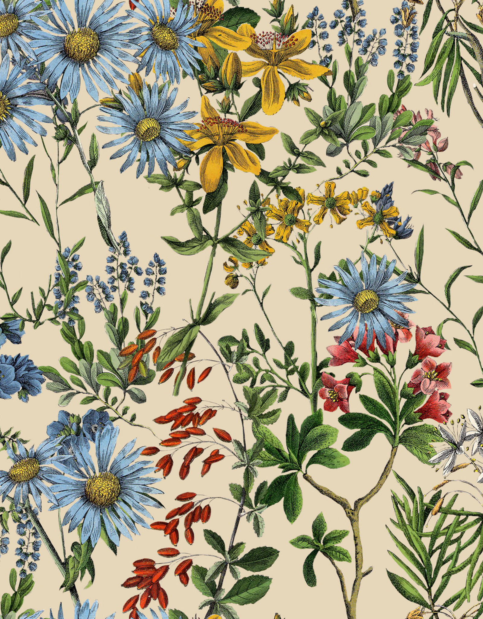 MINDTHEGAP Designer Wallpaper SUMMERISH Taupe