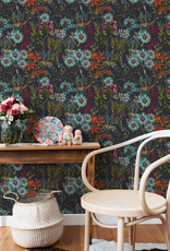 MINDTHEGAP Designer Wallpaper SUMMERISH Charcoal