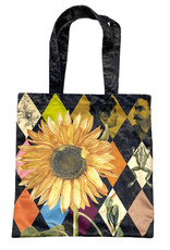 Vanilla Fly TOTE BAG VELVET 45x45 CM - sunflower