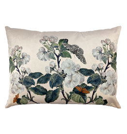 Vanilla Fly VELVET CUSHION APPLEBLOSSOM NUDE 50X70 CM