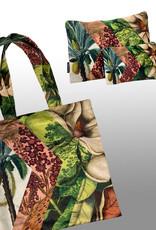 Vanilla Fly MAKEUP BAG & POUCH VELVET - paradise