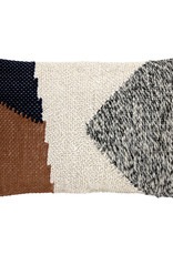 HKliving Cushion knotted autumn multicolour 40 x 60 cm