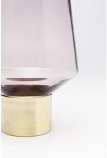 KARE DESIGN Vase Noble Ring Purple 26cm