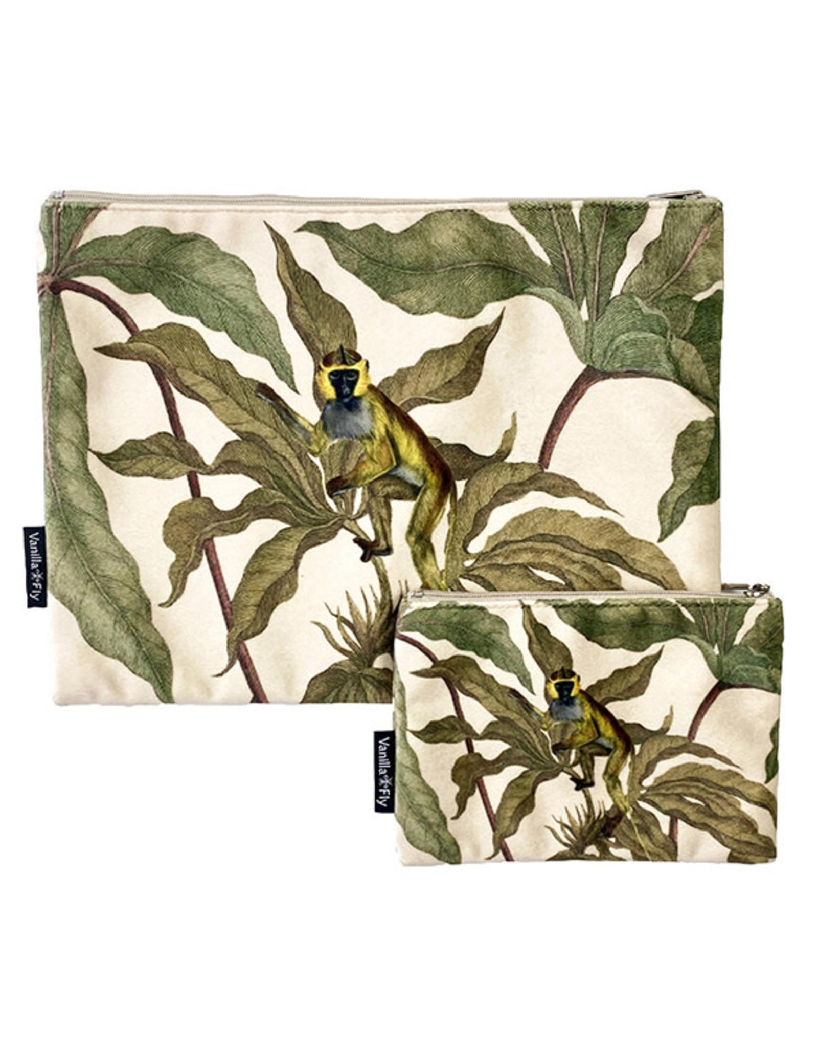 Vanilla Fly MAKEUP BAG & POUCH VELVET - LA94C