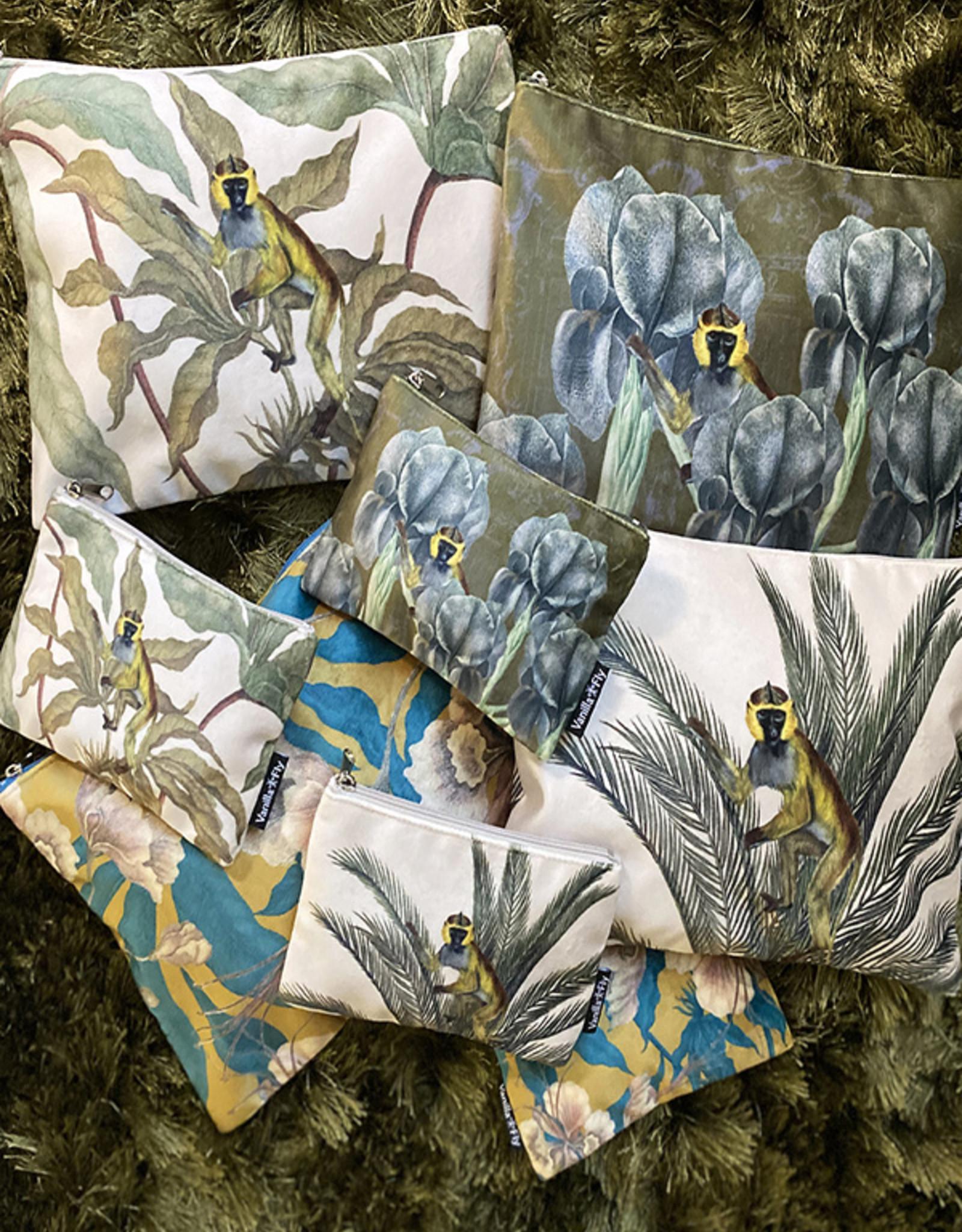 Vanilla Fly MAKEUP BAG & POUCH VELVET - LA94D