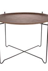 HKliving Side table walnut L