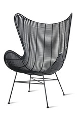 HKliving Egg chair black (in- & outdoor)