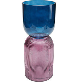 KARE DESIGN Vase Marvelous Duo Blue Purple 40