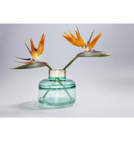 KARE DESIGN Vase Positano Belly Green