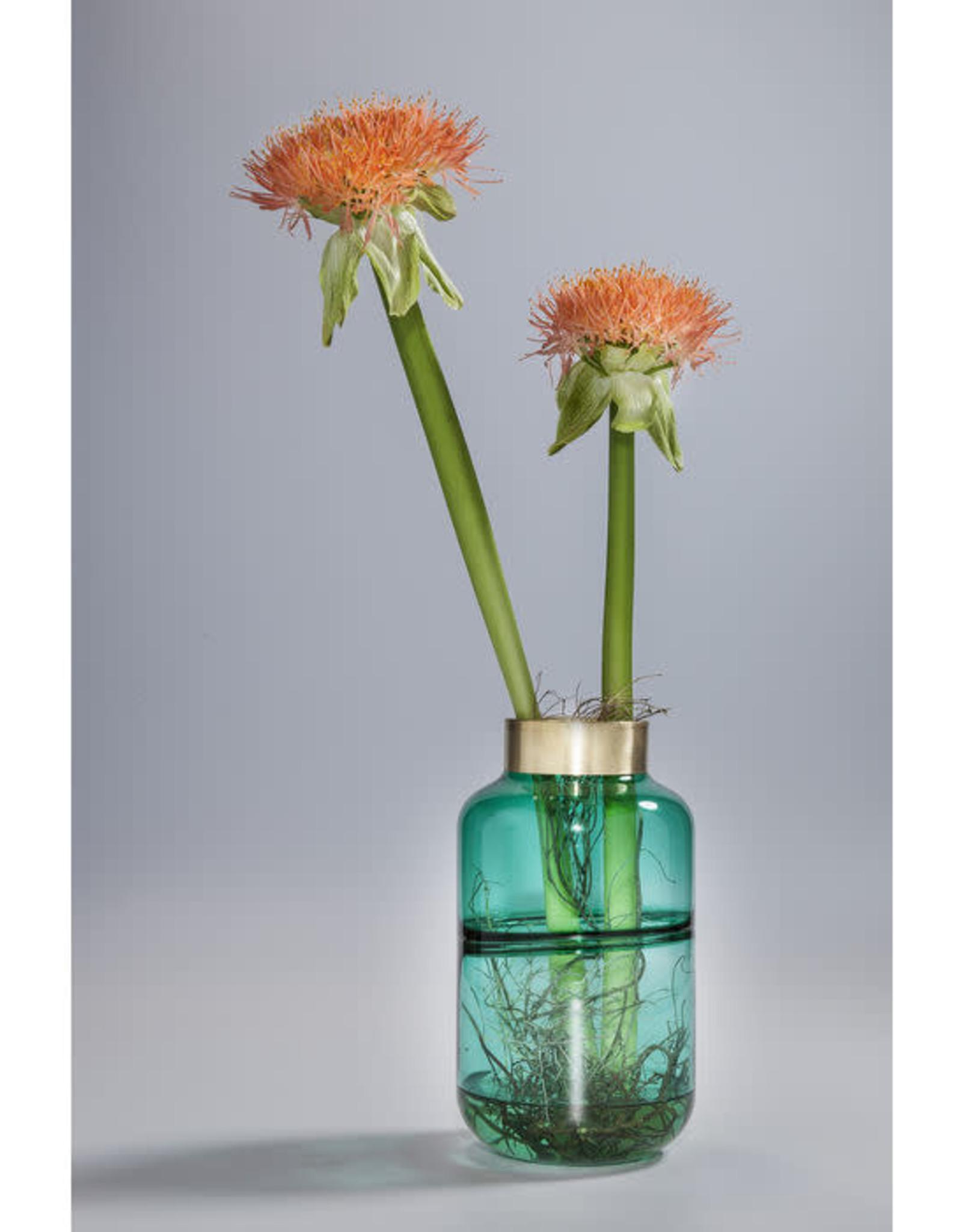 KARE DESIGN Vase Positano Belly Green 28 cm