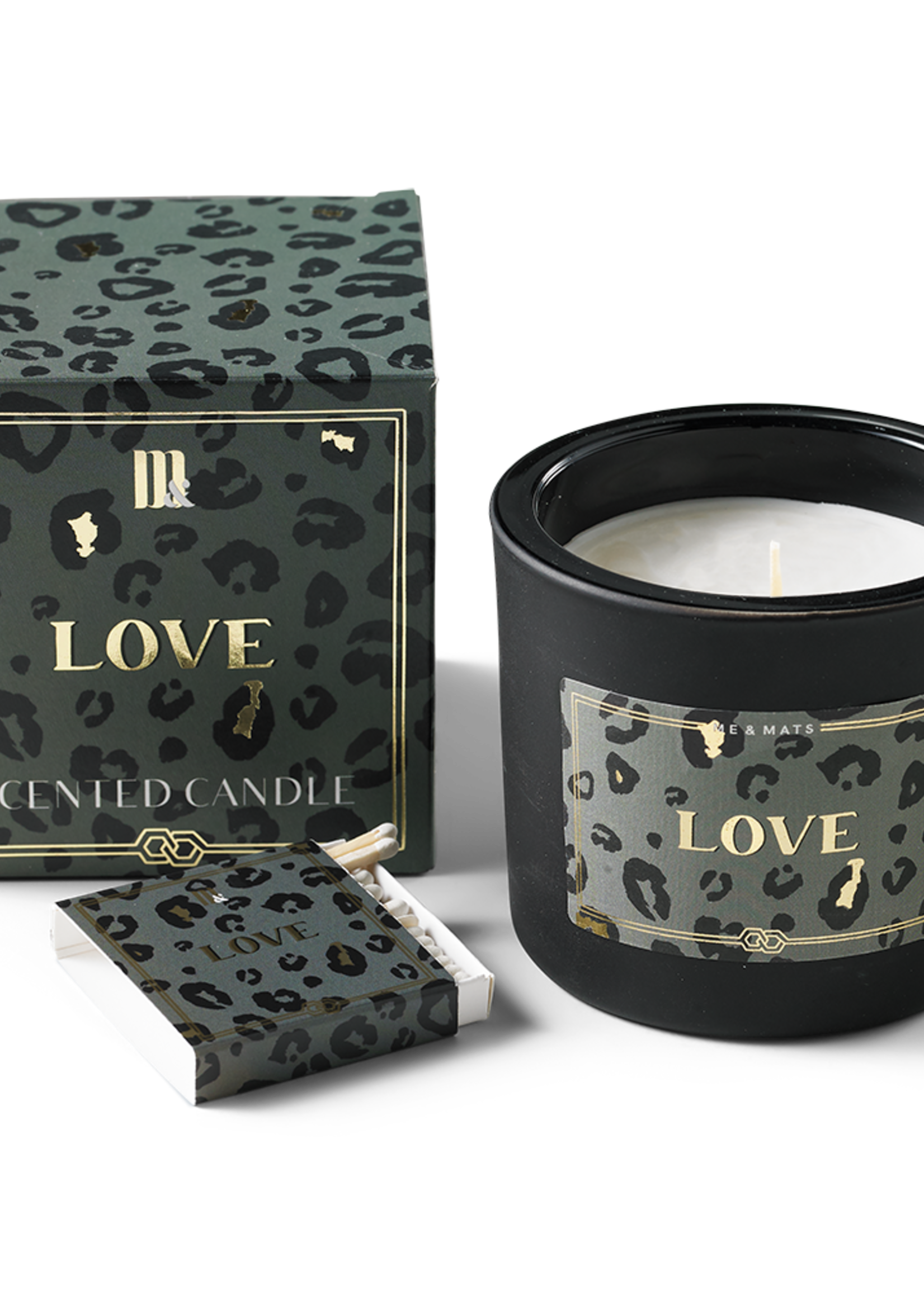 Me & Mats ME&MATS luxury scented candle - Crazy Leopard