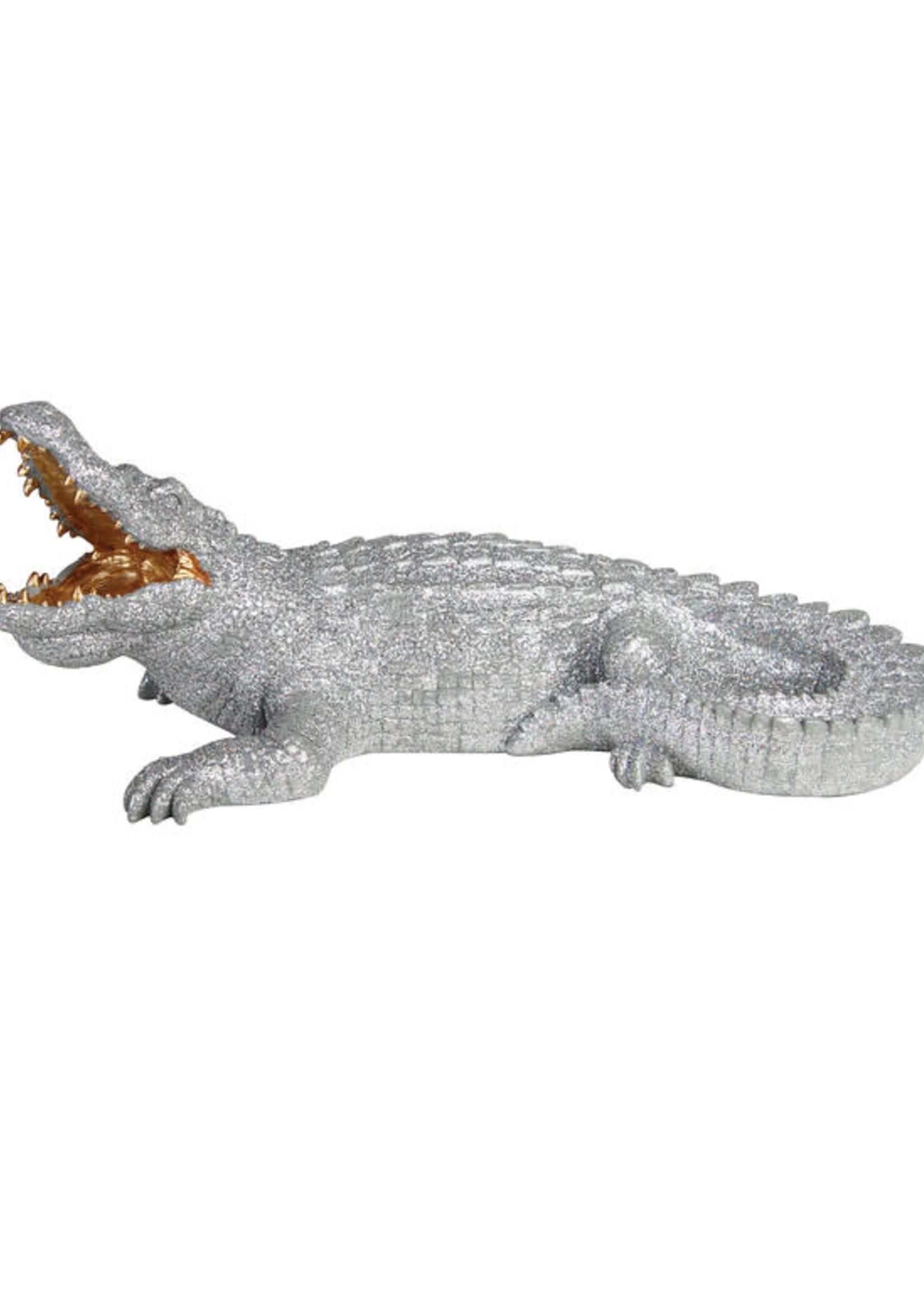&Klevering Coinbank crocodile glitter