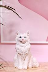 &Klevering Spaarpot Kat Wit
