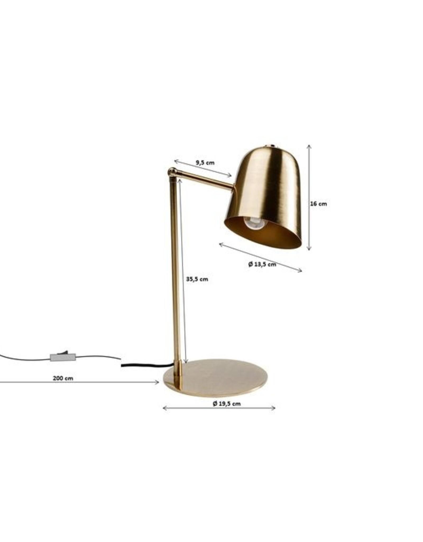 KARE DESIGN Table Lamp Theater Brass