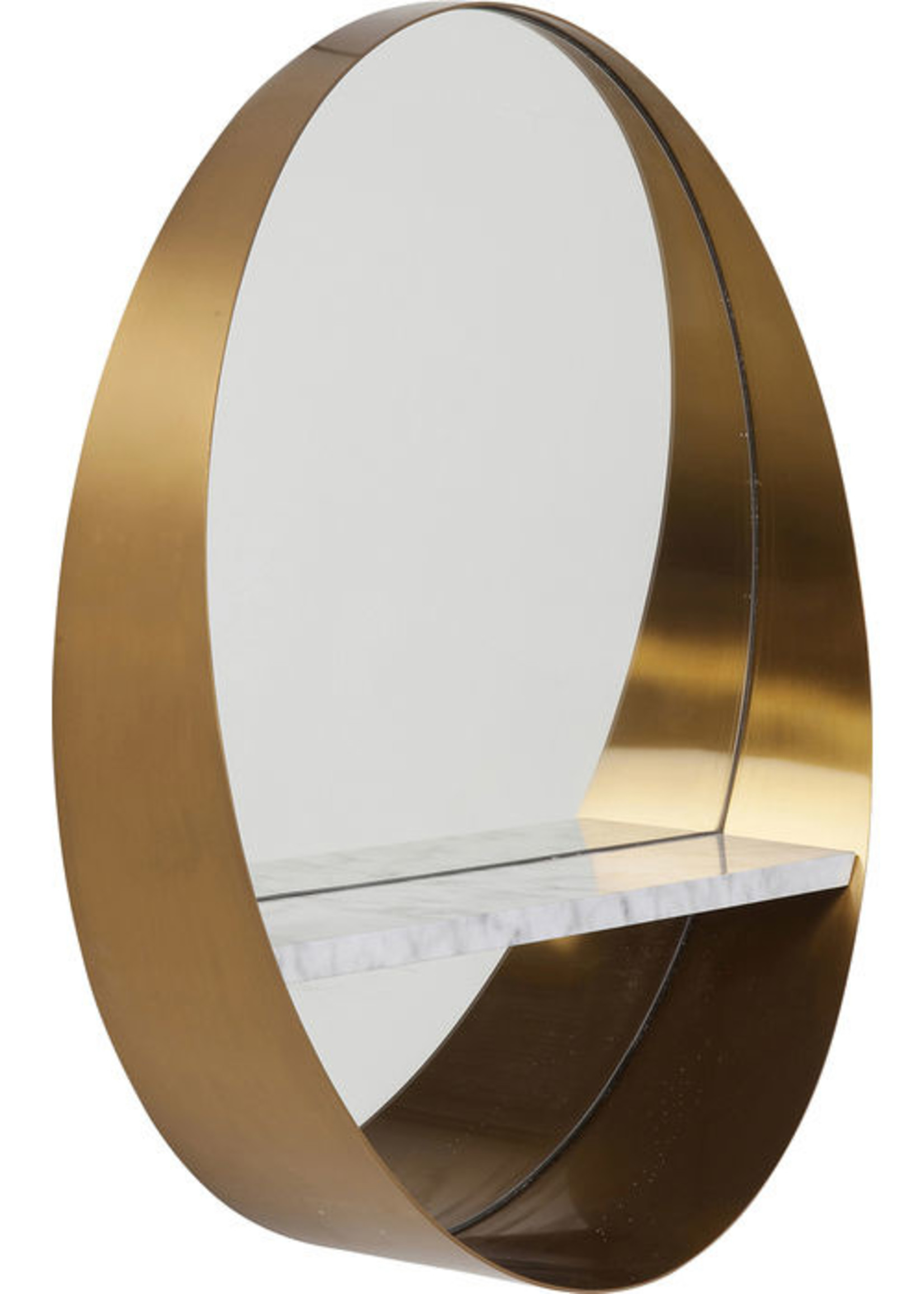 KARE DESIGN Mirror Hipster Shelf Ø65cm