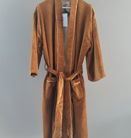 NAMASTE Kimono velours TABAC