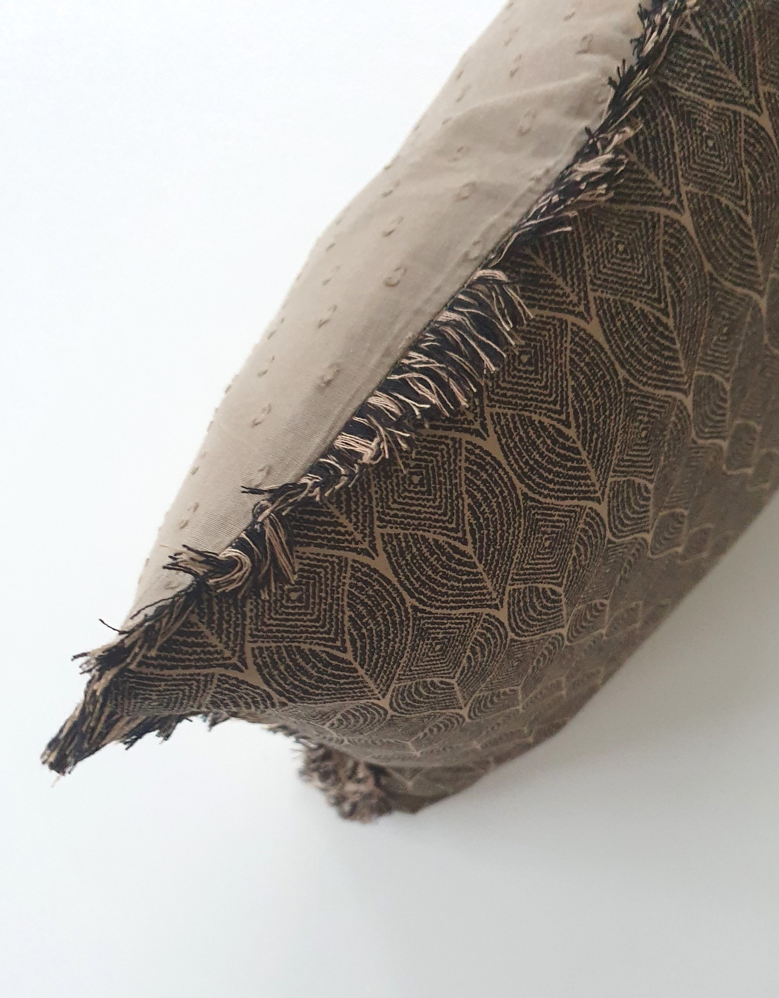 BUNDI Coussin 35X50 cm BEIGE