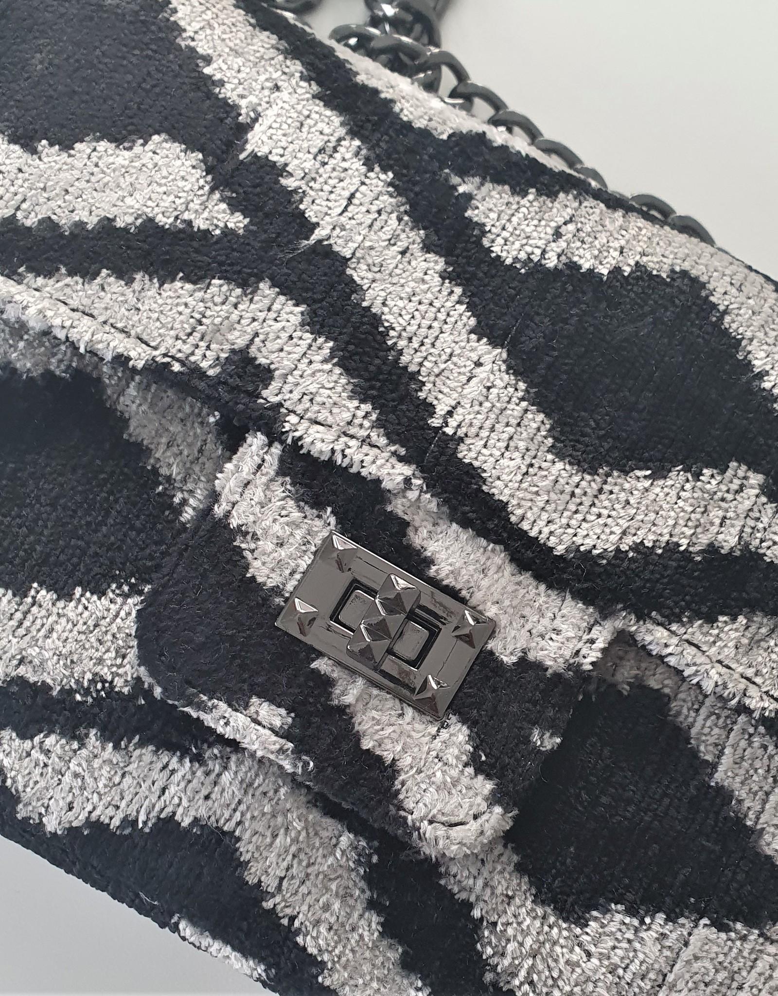 Ikat silk velvet Coco bag 6