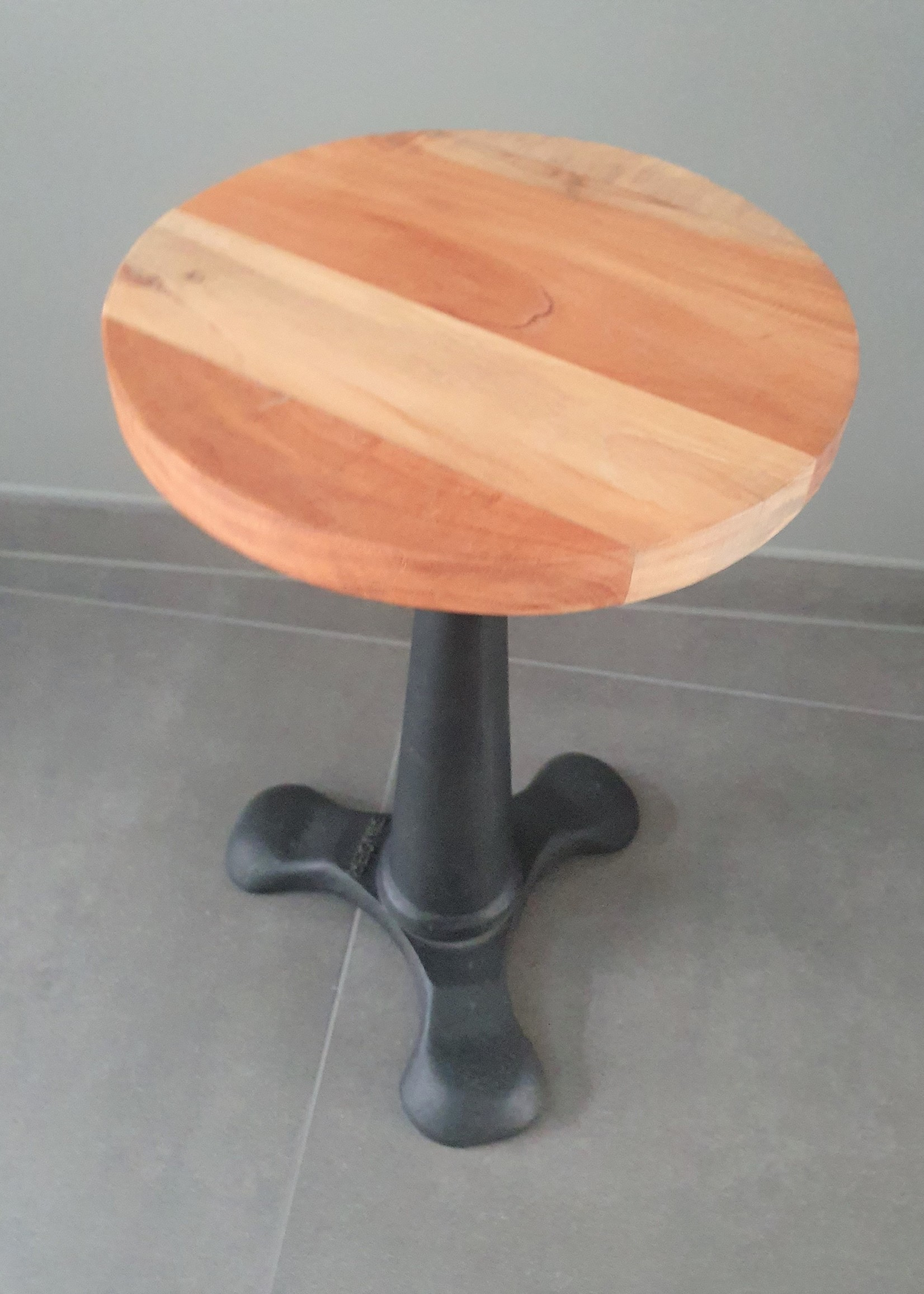 Industrial Singer stool, black, replica