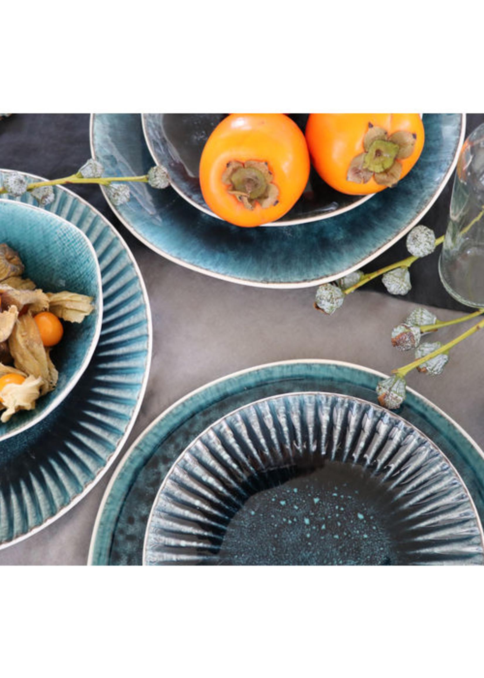 KARE DESIGN Plate Mustique Rim Ø21cm