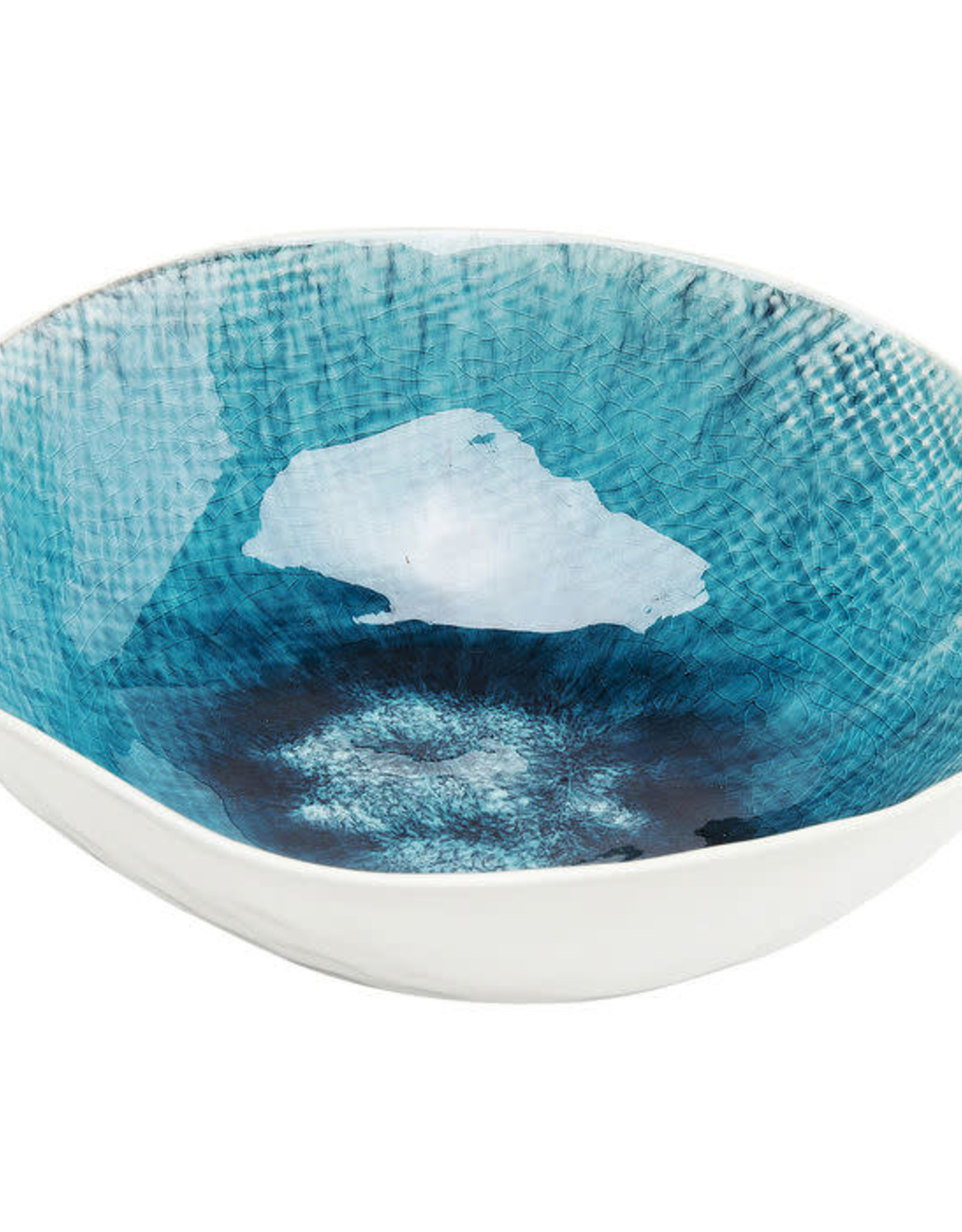 KARE DESIGN Bowl Mustique Rim Ø 17 cm