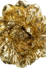 KARE DESIGN Wall Decoration Peony Gold