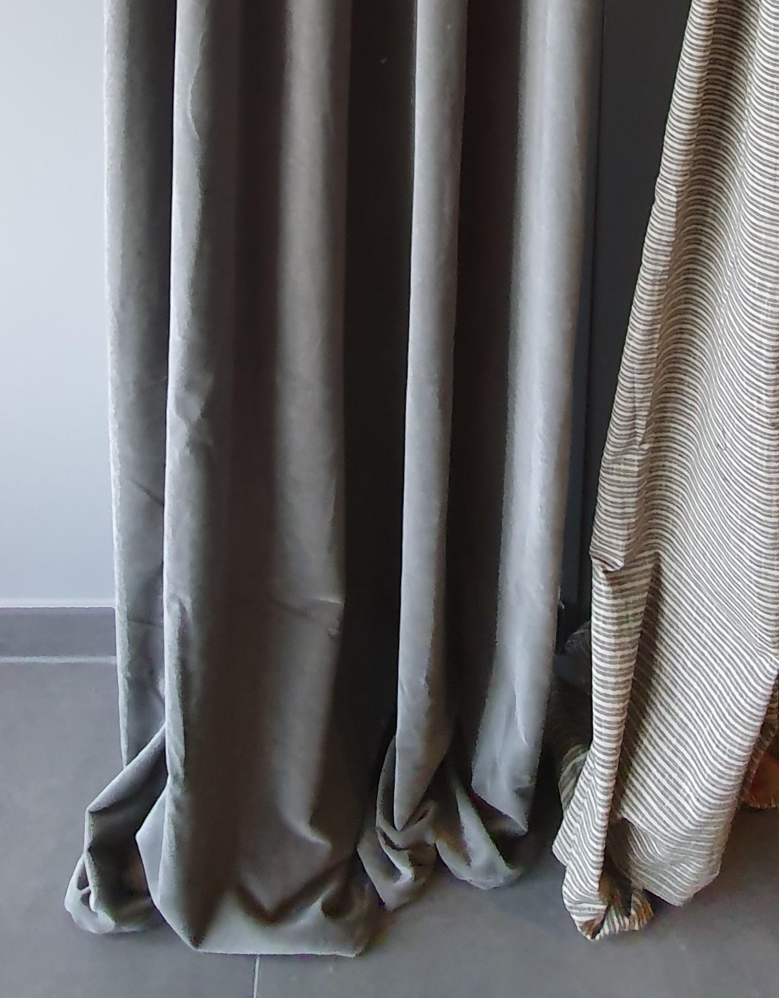 NAMASTE curtain 140X260 cm ZINC