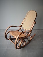 *SOLD*  Vintage rocking chair Thonet style, 60-70s