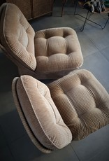 A  pair of Orchid chairs by Michel Cadestin  for Airborn- 1970S
