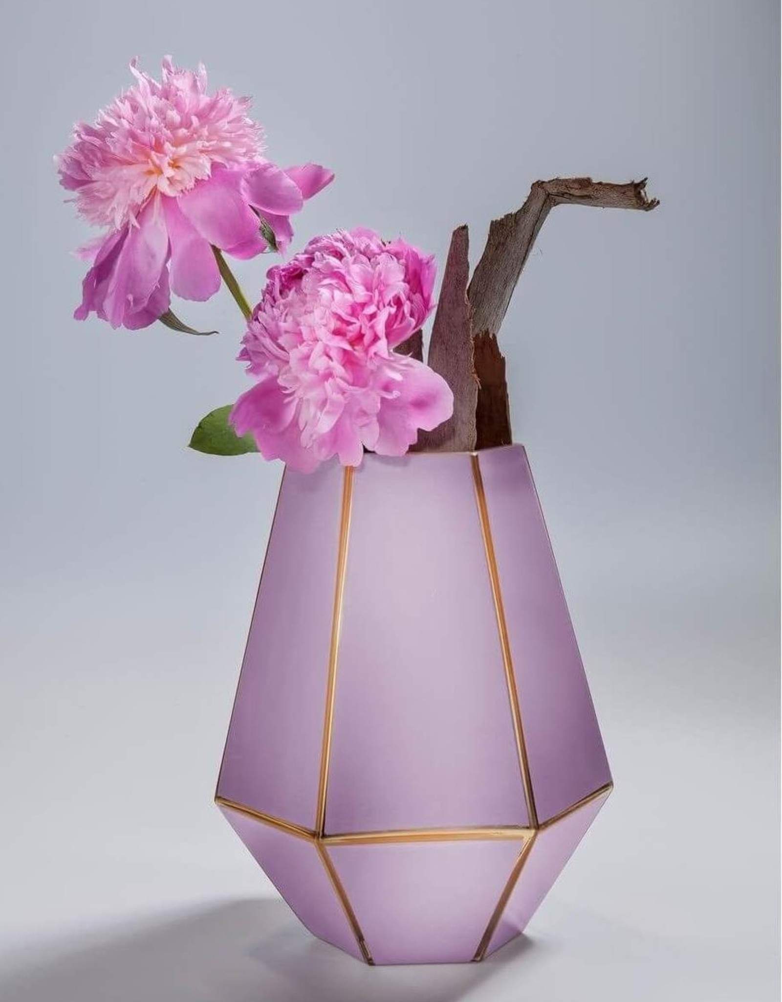 KARE DESIGN Vase Art Pastel Purple 26cm