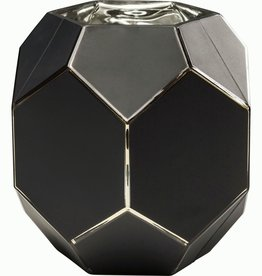 KARE DESIGN Vase Art Pastel Black 22 cm
