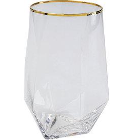 KARE DESIGN Tumbler Diamond Gold Rim