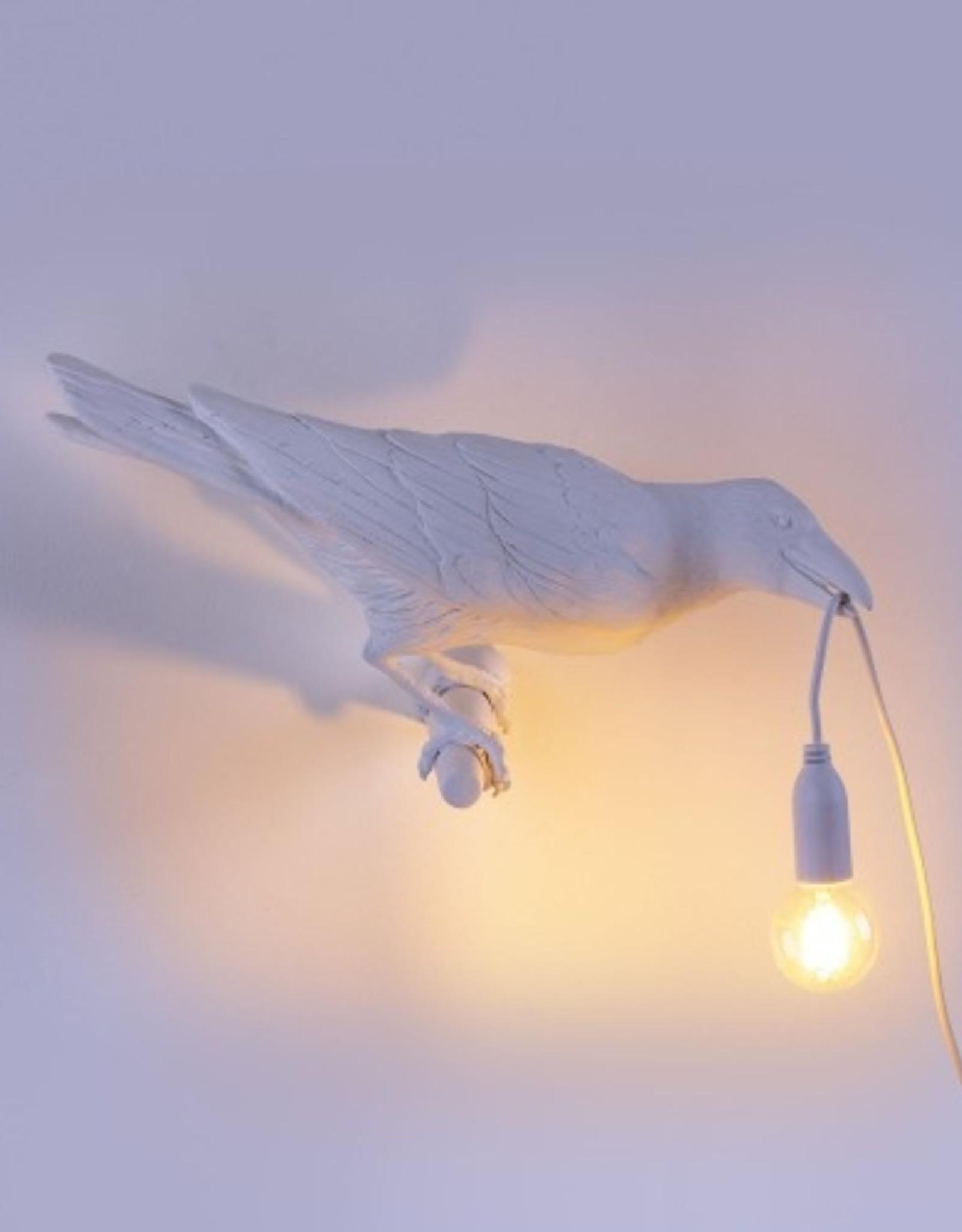 Seletti BIRD LAMP,  LOOKING RIGHT - WHITE