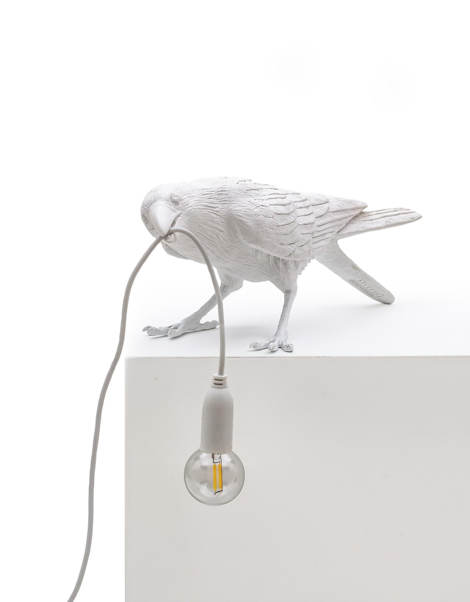 Seletti BIRD LAMP   - PLAYING  -WHITE