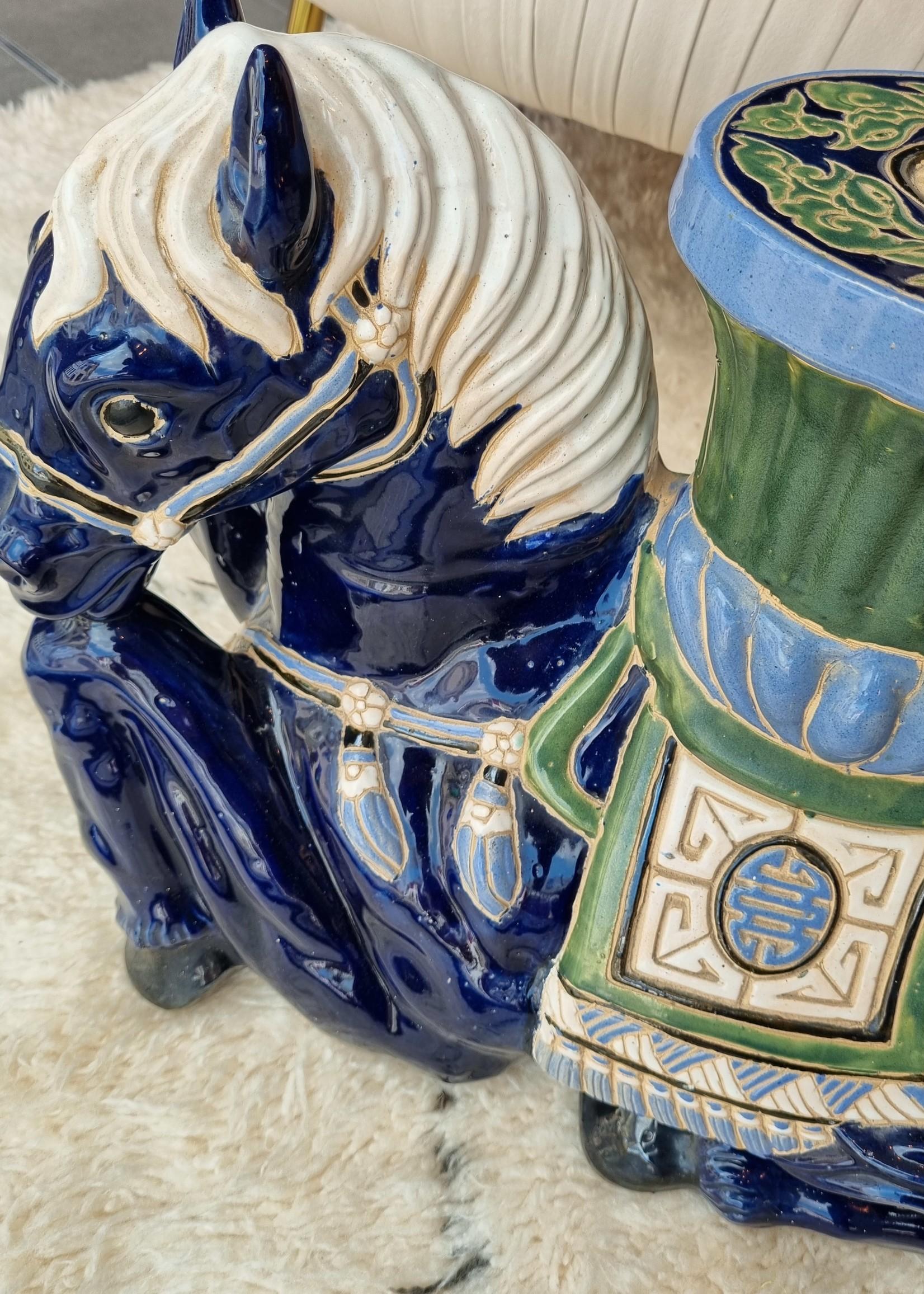 Vintage keramisch paard