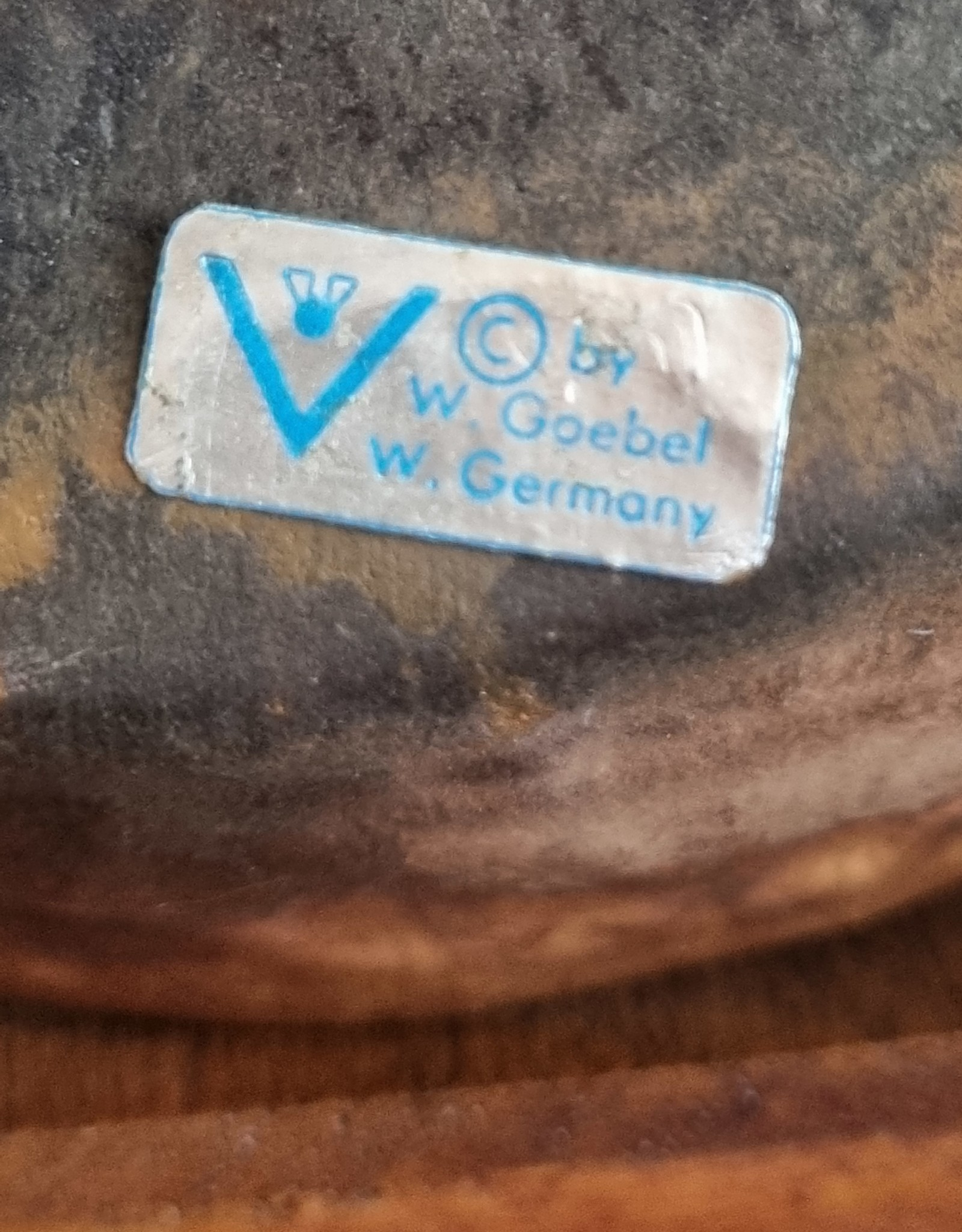 vintage W.Germany kommetjes