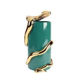 &Klevering Serpent vase