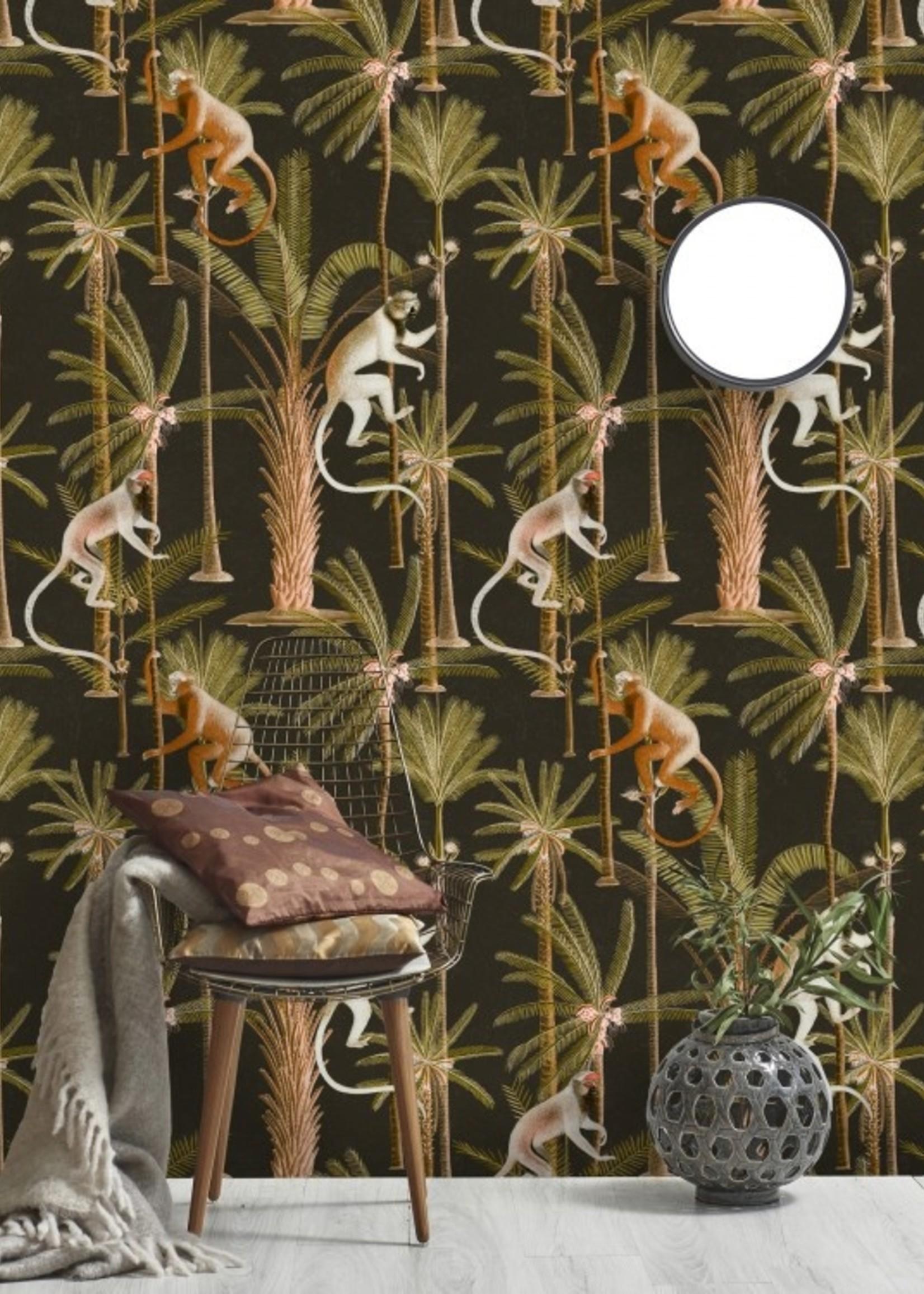 MINDTHEGAP Designer Wallpaper BARBADOS anthracite