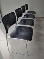HOWE 40/4 stoelen, gebruikt, set van 4