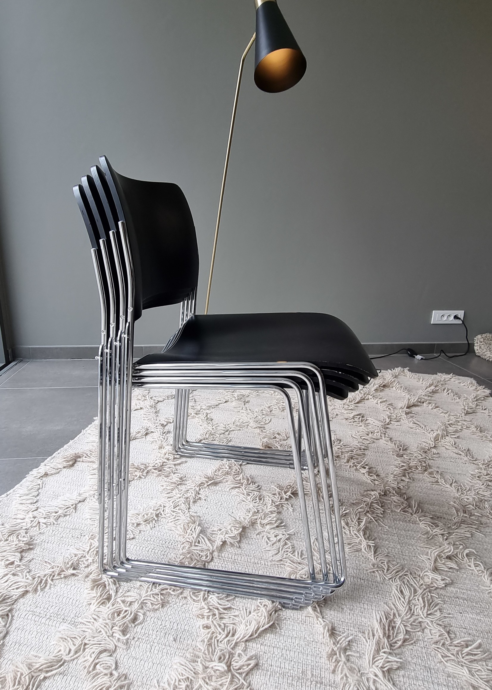 HOWE stoel, gebruikt, set van 4