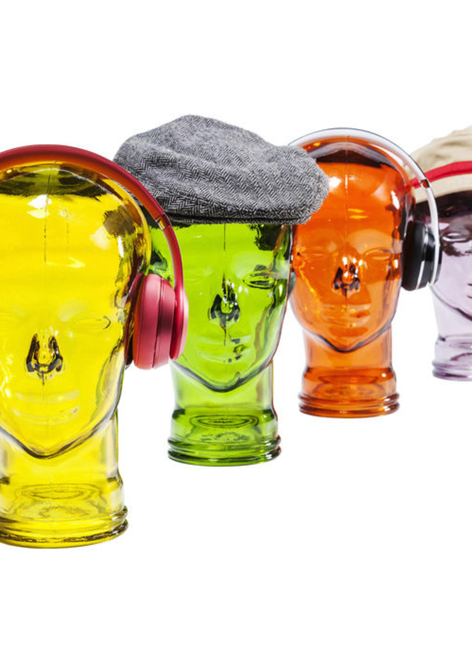Headphone mount Transparent Purple