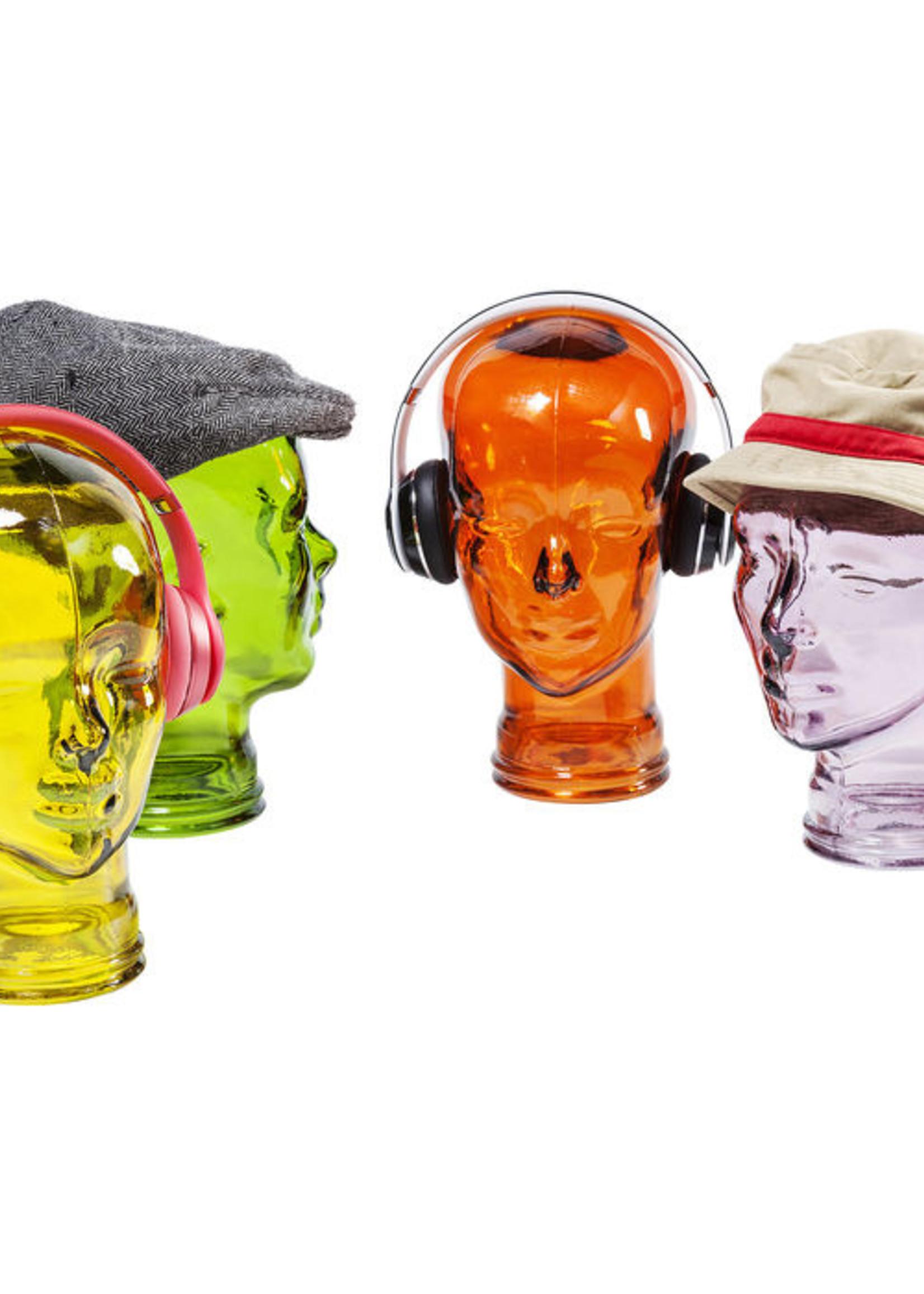 Headphone mount Transparent Orange