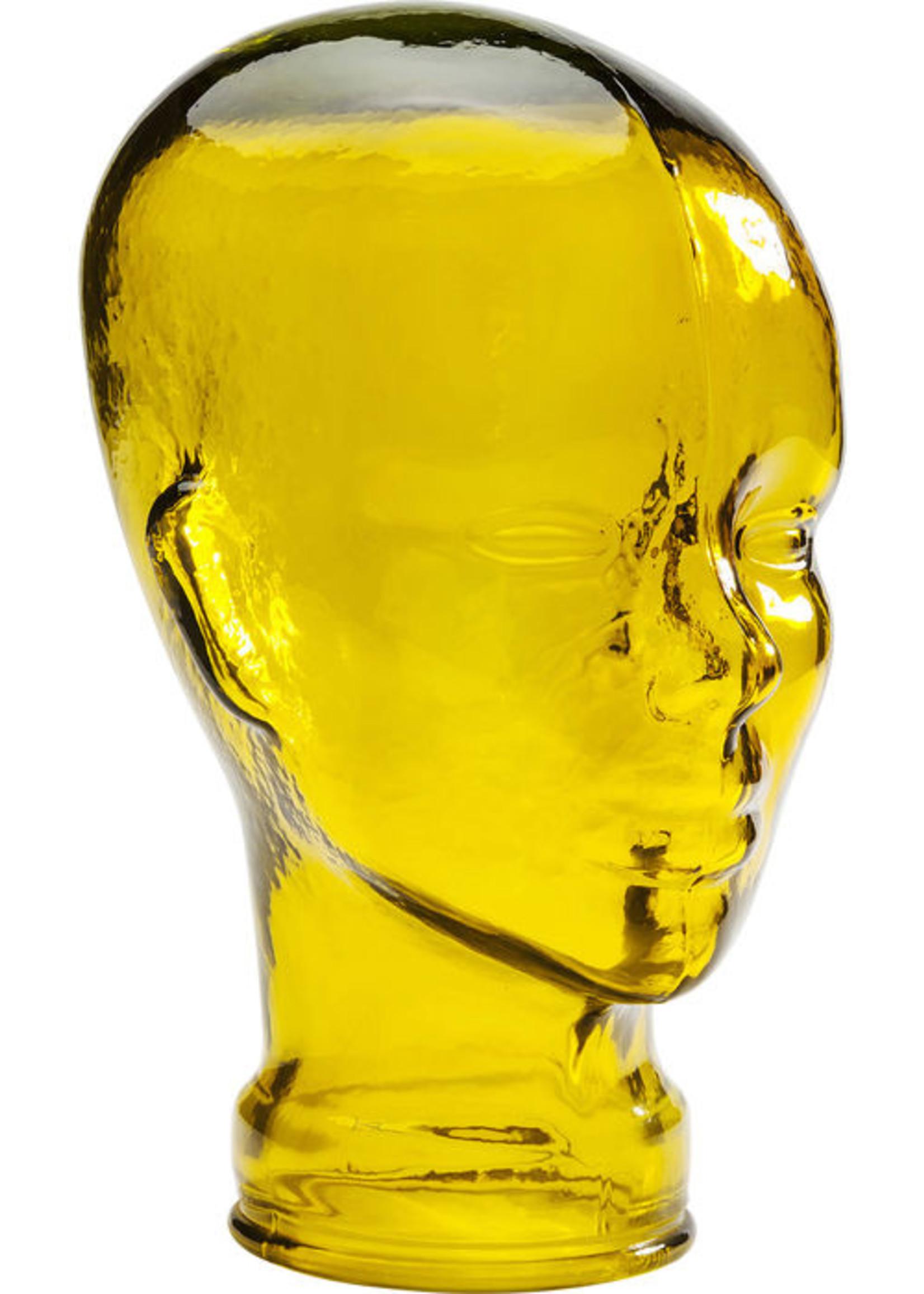Headphone mount Transparent yellow