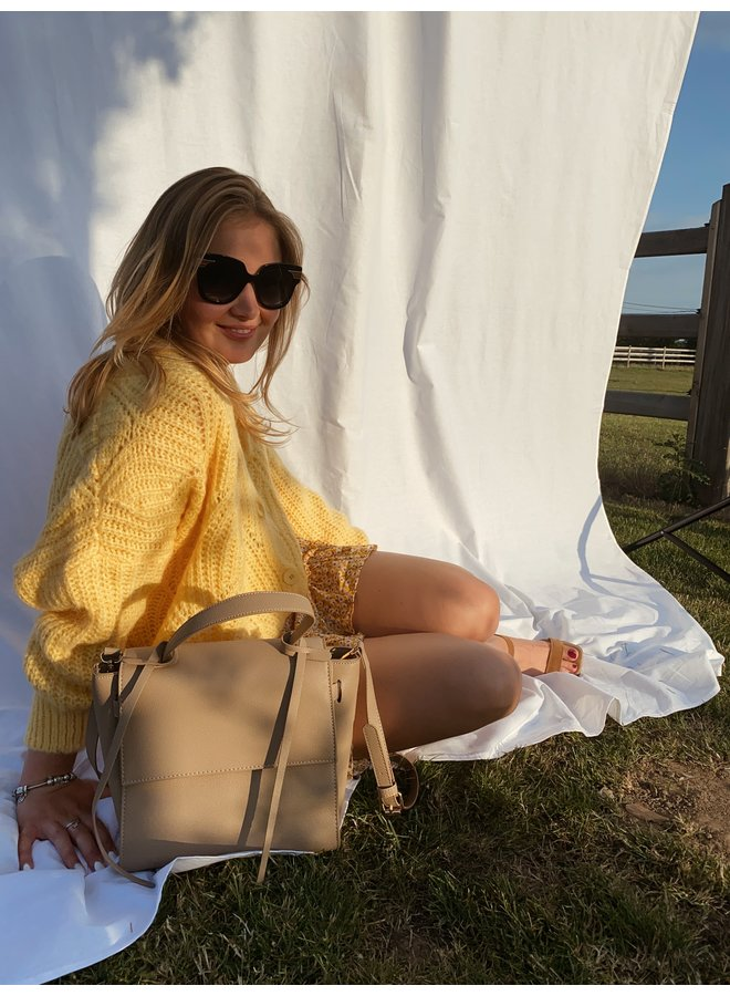 LE TREND - BLAIR PULL YELLOW