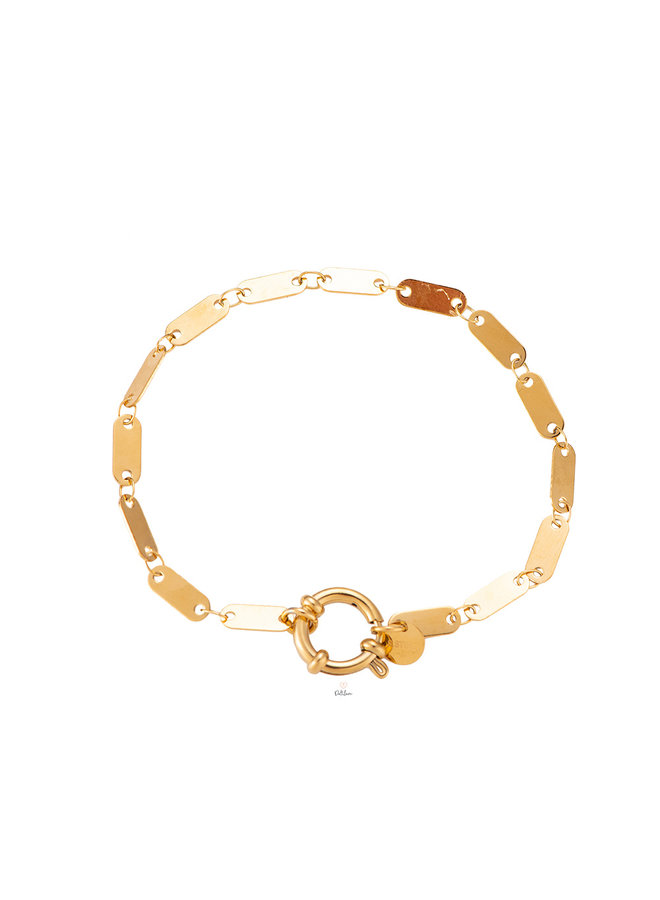 SHAPE BRACELET GOLD