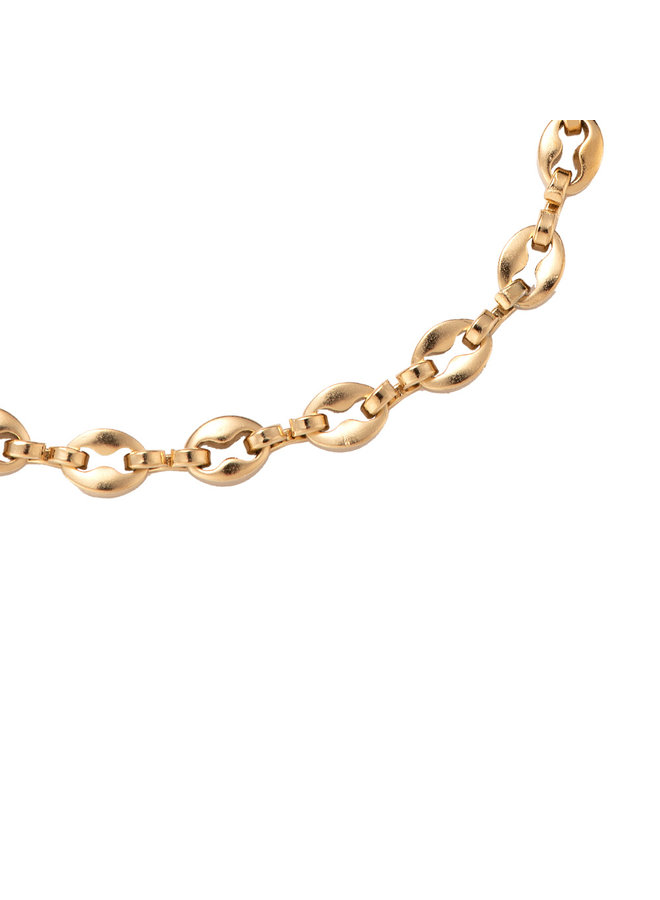 SIMPLE ROUND BRACELET - GOLD